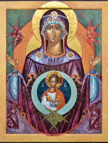 Moeder Gods van het Teken